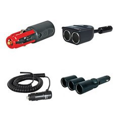 Cigarette Lighter Plugs and Accessory Cables