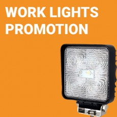LED Work Lights Promotion