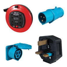 Mains Reels, Plugs and Sockets