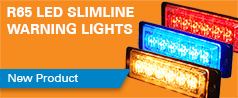 NEW R65 LED Slimline Warning Lights