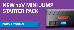 New more powerful 12V Mini Jump Starter Pack