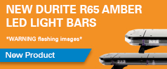New Durite R65 Amber LED Light Bars - 12V/24V