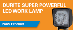NEW Super Powerful LED Work Lamp - 3150Lm