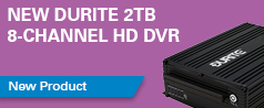 NEW Durite 2TB 8-channel HD DVR