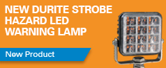 NEW Durite Super Powerful LED Warning Lamp