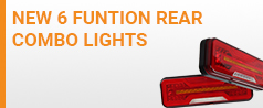 6 Function rear combo lights
