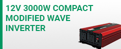 12V 3k Compact modified wave inverter