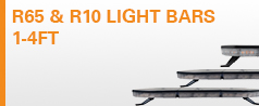 R65 & R10 Light Bars 1-4FT