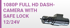 NEW 1080P Safe Lock Dash Cam