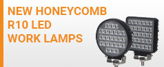 NEW Honeycomb R10 LED Work Lamps