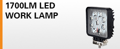 27W Square LED Work Lamp