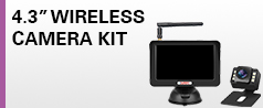 "077643 4.3"" Wireless Camera Kit"