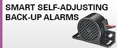 NEW Smart Self-Adjusting Back-Up Alarms