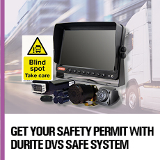 Get your safety permit with Durite DVS Safe System