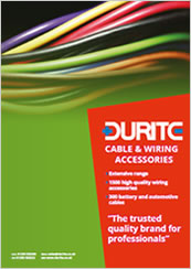 Durite Cable and Wiring Accessories Catalogue