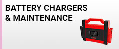 BATTERY CHARGERS AND MAINTENANCE