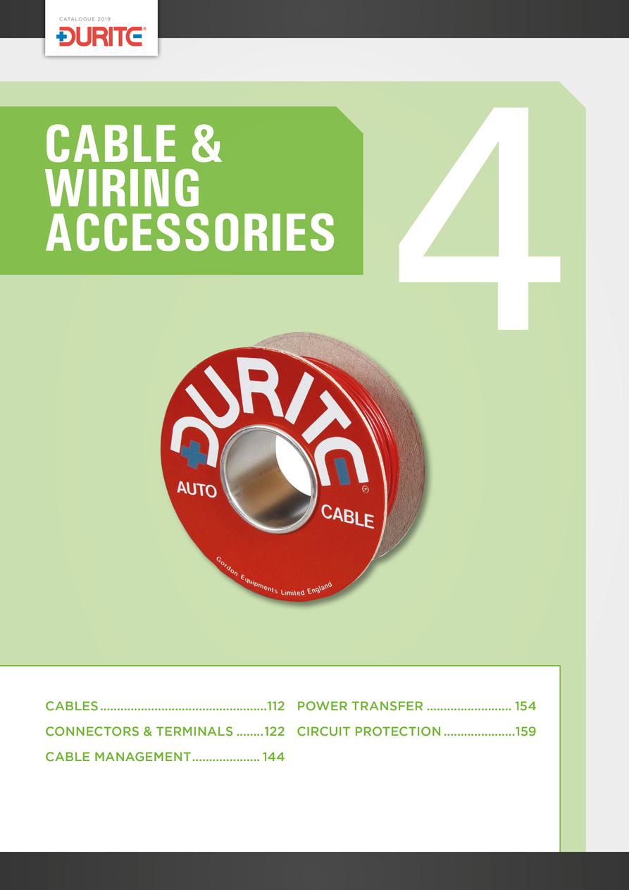 Surprising Durite 2019 Catalogue Catalogue Section 4 Cable Wiring Wiring Database Ittabxeroyuccorg